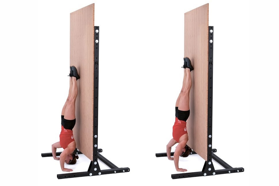 Prison Workout - Handstand Press Up