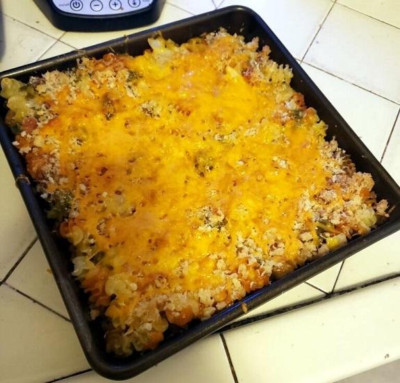 Casserole de macaroni au fromage