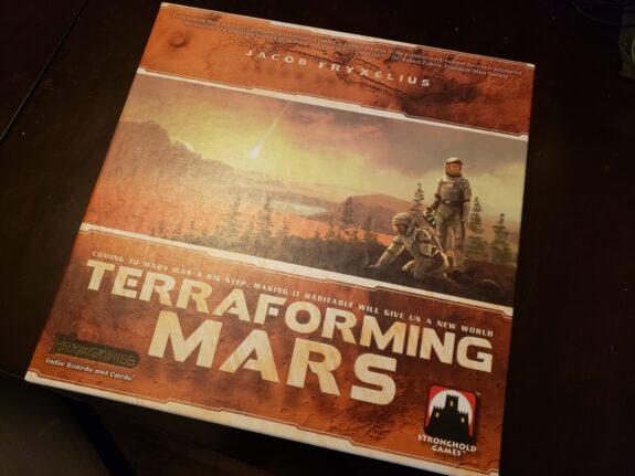 Terraformer Mars