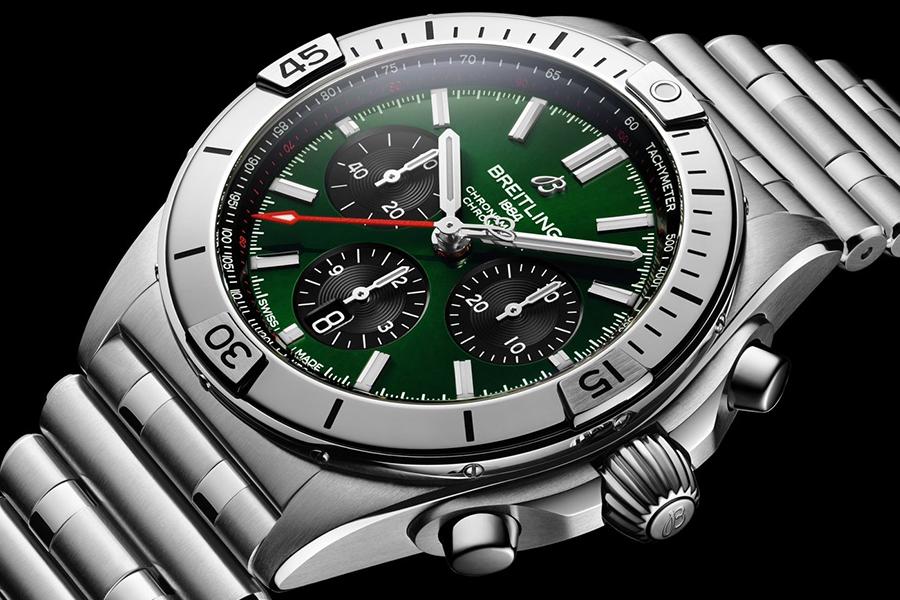 Collection de montres Breitling Chronomat