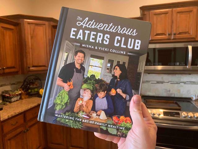 Le club des mangeurs aventureux Misha Collins