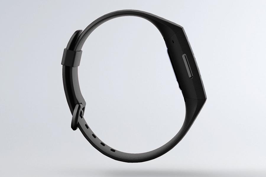 Vue latérale du Fitbit Charge 4 ™