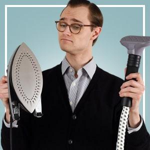 Iron vs Steamer: quel est le meilleur pour votre garde-robe pour hommes?