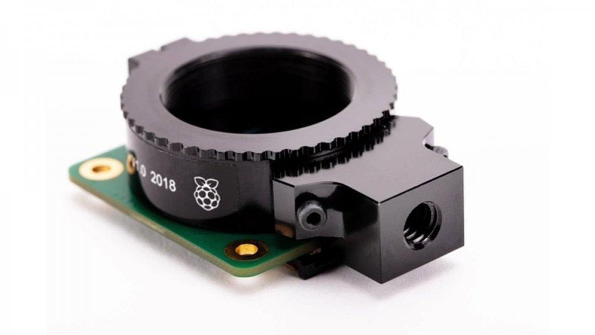 Le module de caméra de haute qualité sans objectif fixé.