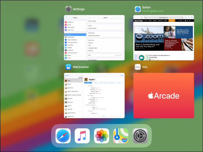 App Switcher sur iPad