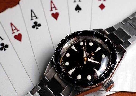 En revue: La montre de plongée Lorier Neptune II sur Dappered.com