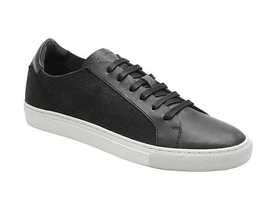 Sneaker en cuir et daim Nicklas