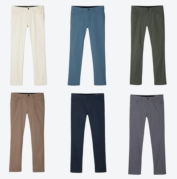 Pantalon 5 poches Bonobos Tech