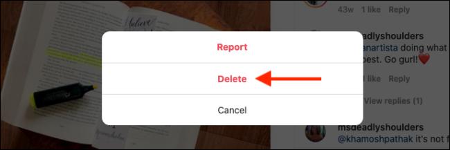 Cliquez sur le bouton Supprimer