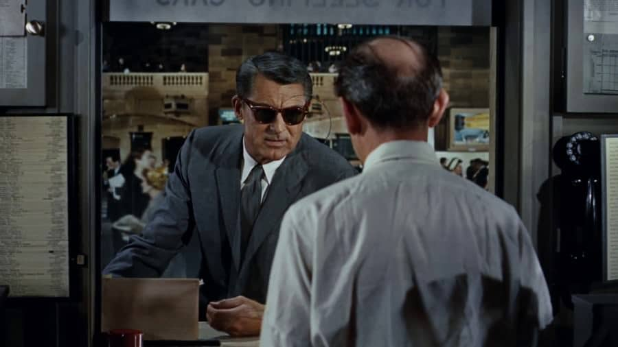 Lunettes de soleil Cary Grant dans North by Northwest