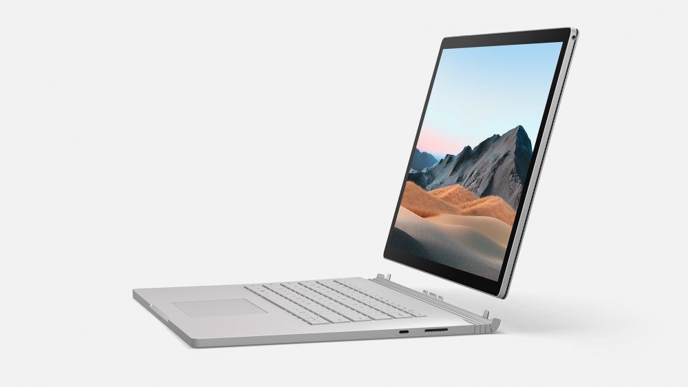 Une photo du Surface Book 3 détaché de sa base de clavier.