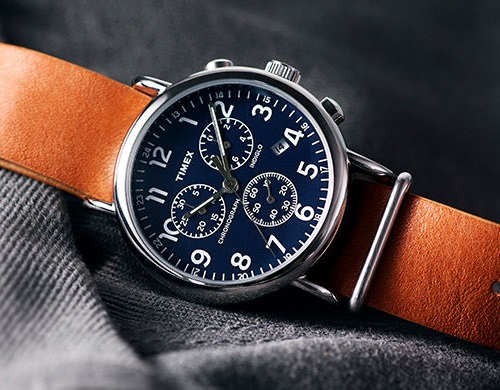 Timex Weekender Chronograph Blue Dial