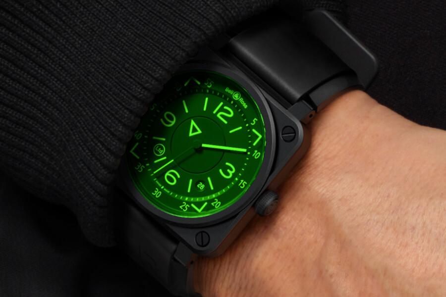 Nouvelle montre Bell Ross au poignet