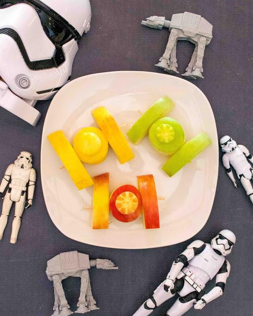 Comment faire des combattants TIE Apple de Star Wars!