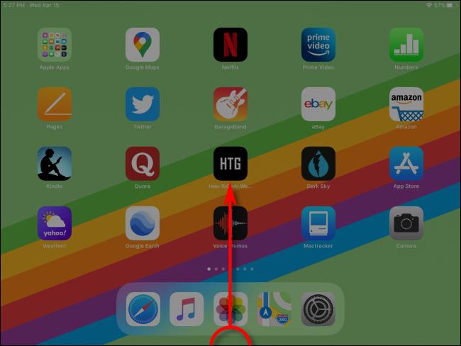 Comment lancer App Switcher sur iPad