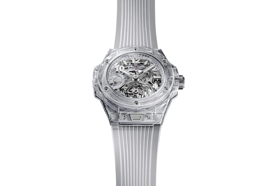 Tourbillon Hublot Sapphire Watch Collection