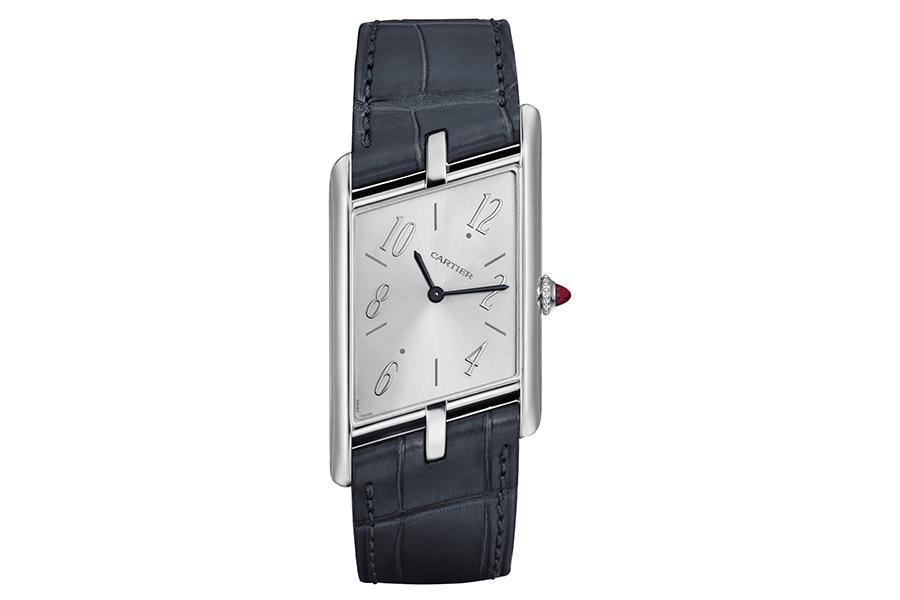 Cartier LA NOUVELLE MONTRE ASYMÉTRIQUE