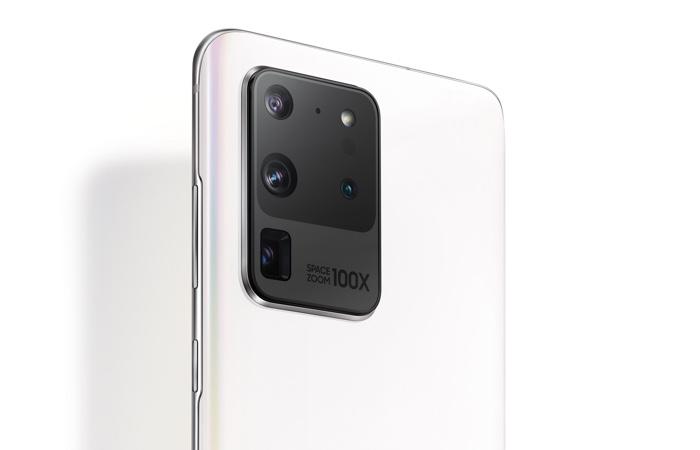 Samsung Galaxy S20 Ultra Limited Edition Blanc