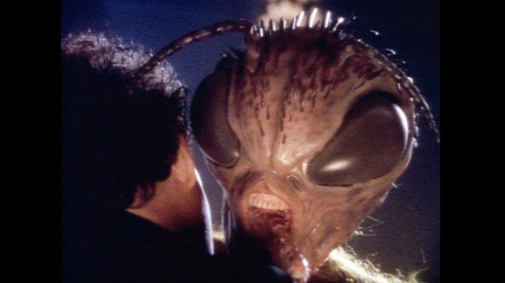 Une capture d'écran de l'épisode Monsters