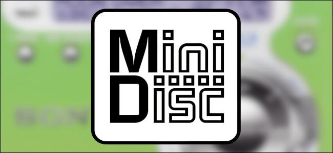 Le logo MiniDisc.