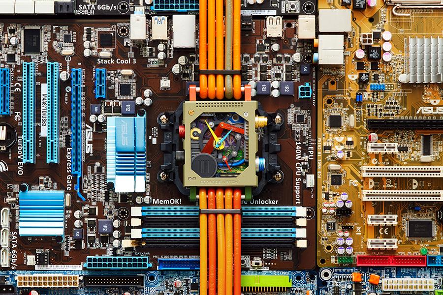 Garbage Watch de pièces d'ordinateur Vollebak