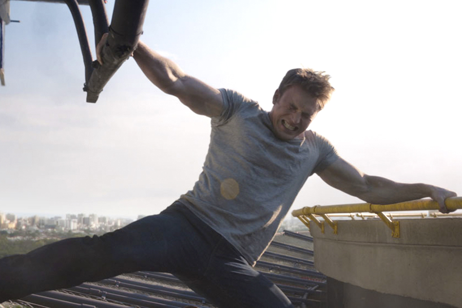 4 Chris Evans '' Captain America 'Workout and Diet Plan