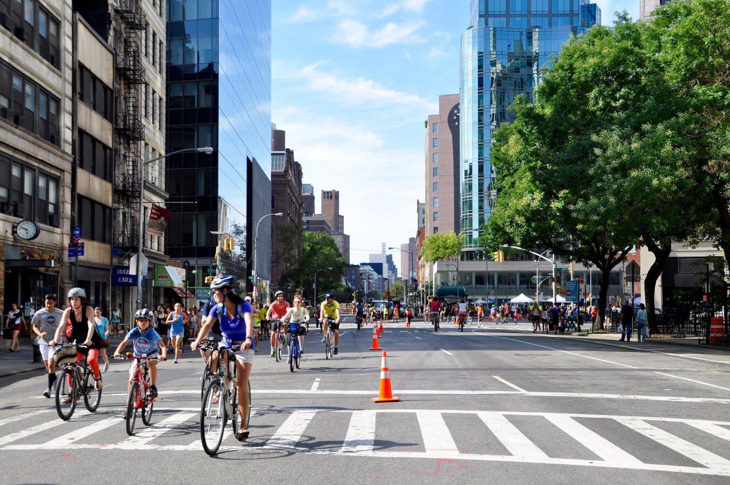 NYC Open Streets - La vie dans les grandes villes s'améliore
