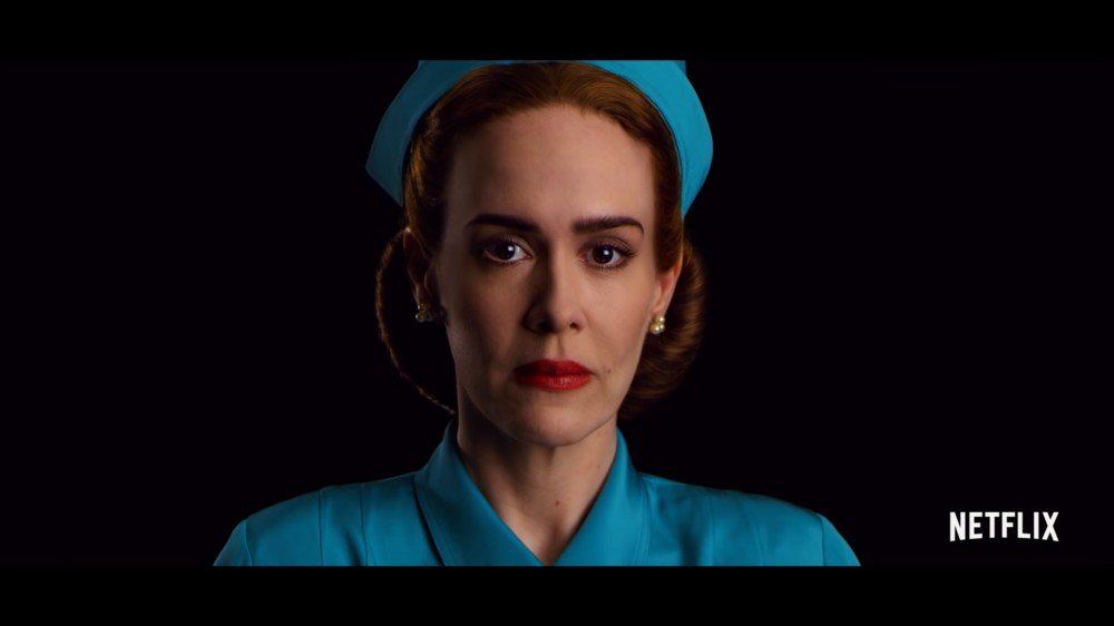 Sarah Paulson comme Mildred Ratched in