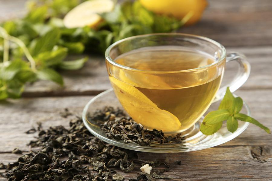 Meilleures boissons Keto - Thé vert