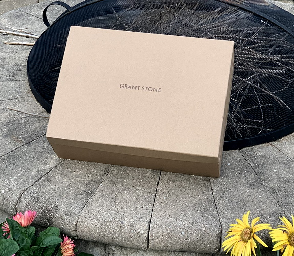 Boîte à chaussures Grant Stone