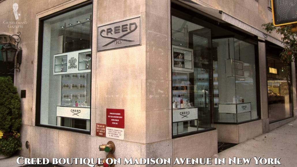Creed Boutique à New York