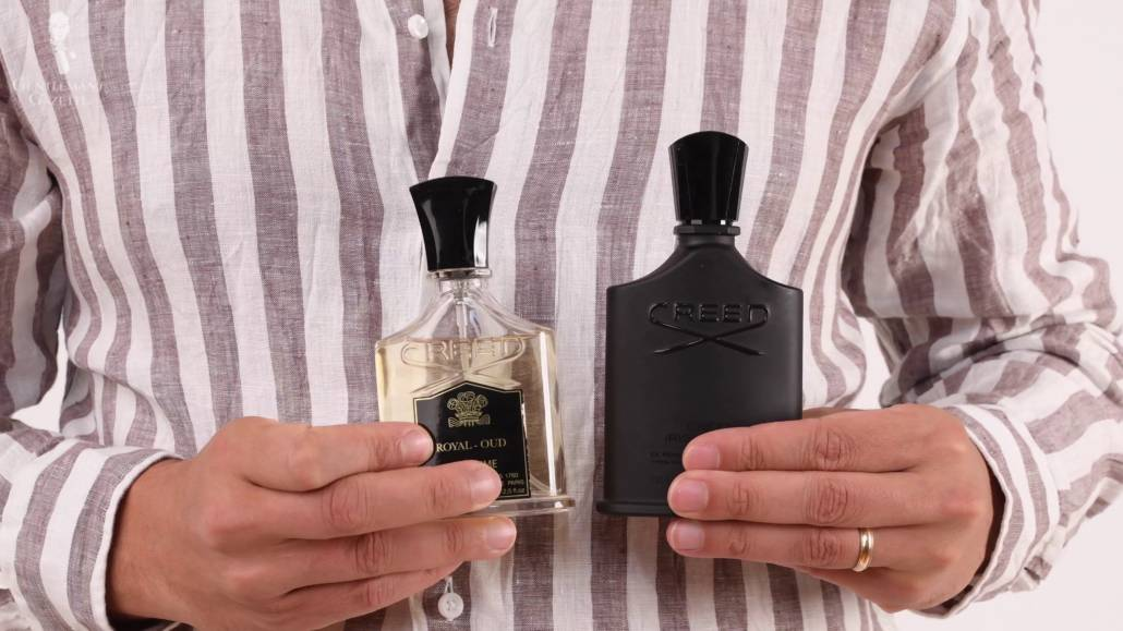 Royal-Oud et Green Irish Tweed de House of Creed.