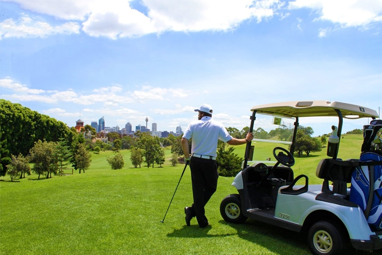 golf de Sydney Moore Park