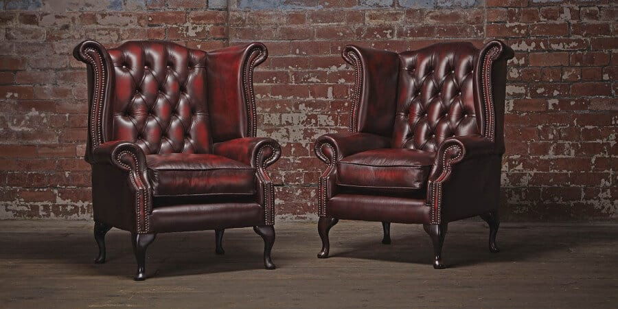 Chesterfields of England Queen Anne Chair