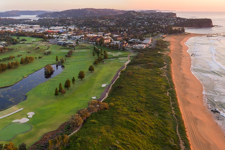 club de golf de sydney mona vale