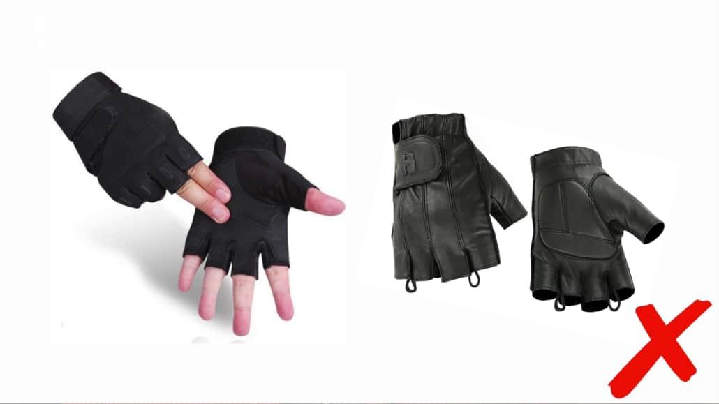 Il vaut mieux laisser les gants de conduite sans doigts seuls - surtout lorsque des alternatives plus classiques sont disponibles!