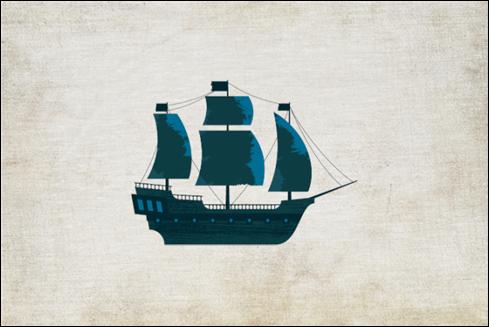 Le logo Pirate Ipsum.