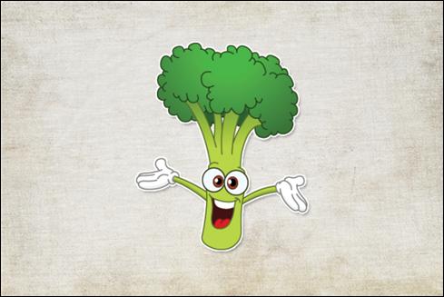 Le logo Veggie Ipsum.