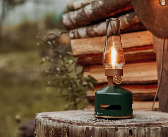 Haut-parleur de lanterne LED Mori Mori