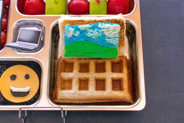 Comment faire un déjeuner scolaire à distance avec ordinateur au fromage grillé