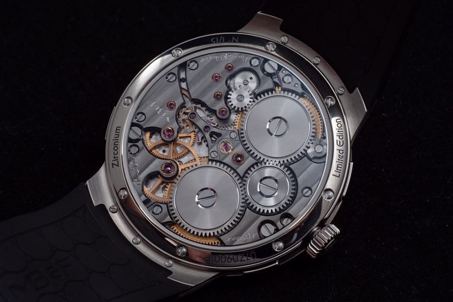 Engrenages MB&F LM PERPETUAL EVO