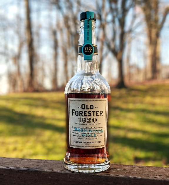 Style d'interdiction Old Forester 1920