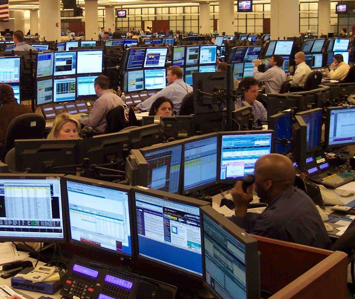 "Comptoirs de commerce de Wall Street dans ""Formation en I"""