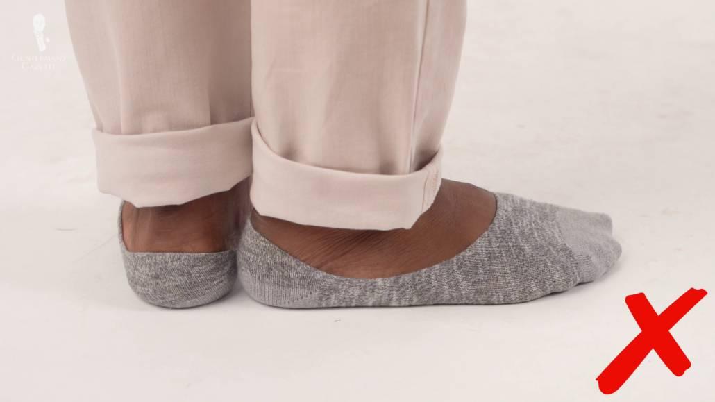 Rien n'est plus irritant qu'une paire de chaussettes de mauvaise qualité avec une mauvaise adhérence au talon.
