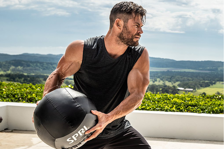Centre d'applications FItness de Chris Hemsworth