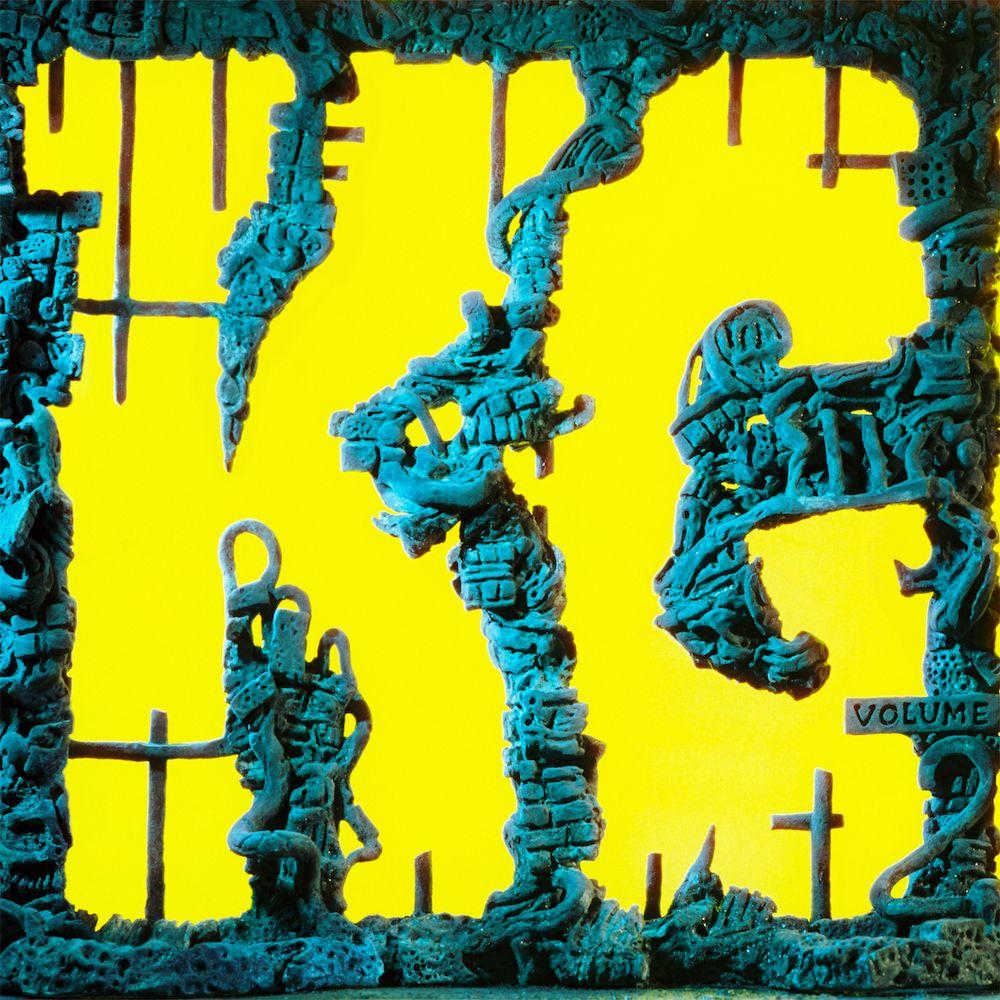 king gésier kg pochette de l'album King Gizzard et le magicien lézard disséquent nouvel album KG piste par piste: Stream