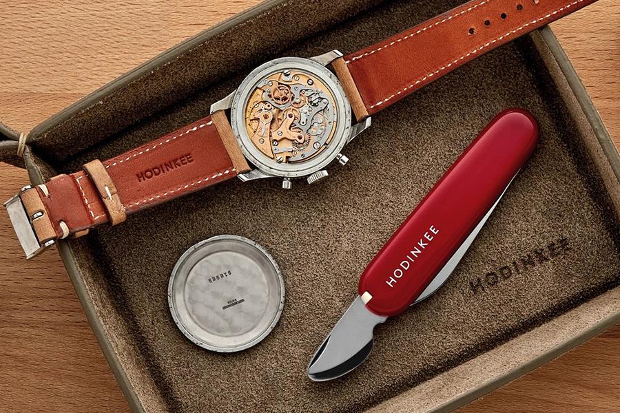 Victorinox pour HODINKEE horloger couteau suisse guide cadeau de noël horloger