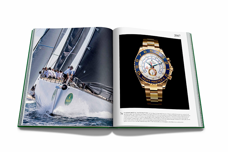 Assouline Rolex The Impossible Collection Livre à couverture rigide Guide des cadeaux de Noël Horloger