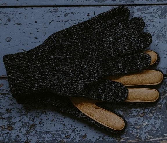 Fabriqué aux États-Unis Gants en laine Upstate Stock