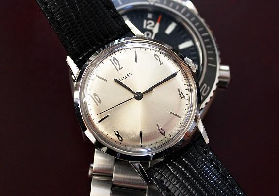 Timex 34 mm Marlin mécanique